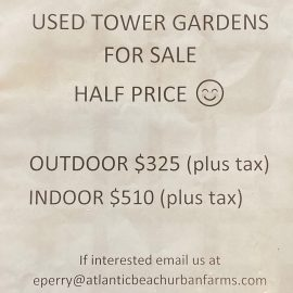 Used Tower Gardens